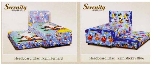 Harga Elite Serenity 2 in 1 Mickey & Bernard Kids Spring Bed