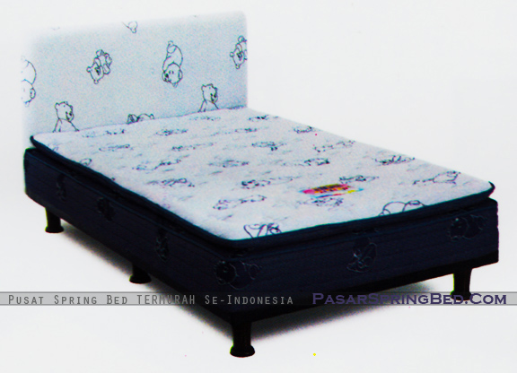harga musterring spring bed - multibed master kids pillow top - hb mh7 - master series- w
