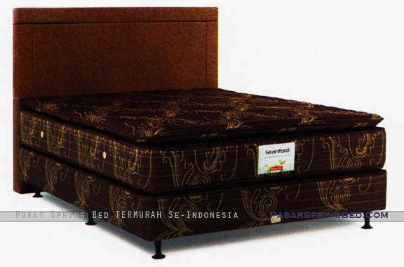 harga musterring spring bed - stanford pillow top - divan stanford hb benfica - stanford series - w