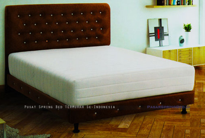 harga musterring spring bed - wellington rebonded spinal spring - divan madrid hb madrid - wellington series - w