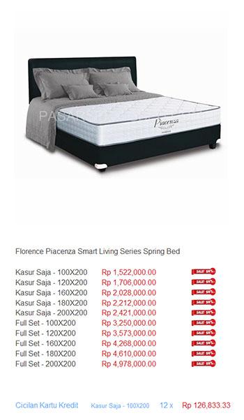 harga florence spring bed1