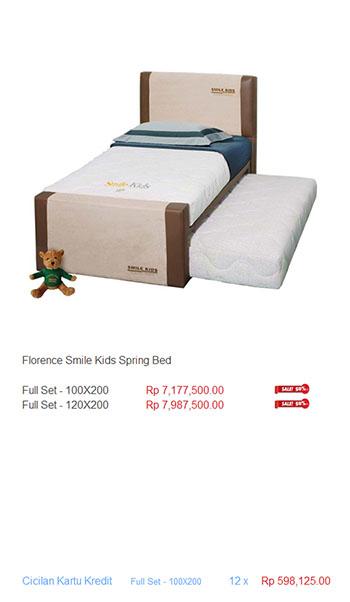 harga florence spring bed19