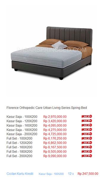 harga florence spring bed7