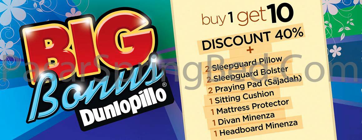 harga-dunlopillo-spring-bed