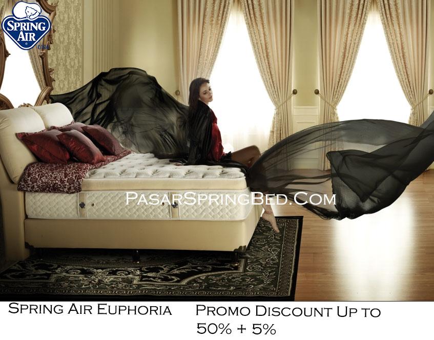 harga spring air spring bed - promo spring air euphoria w