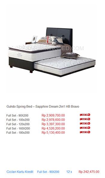 harga guhdo spring bed63