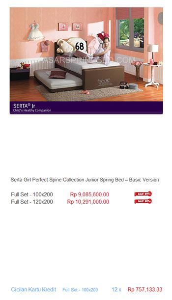 harga serta spring bed