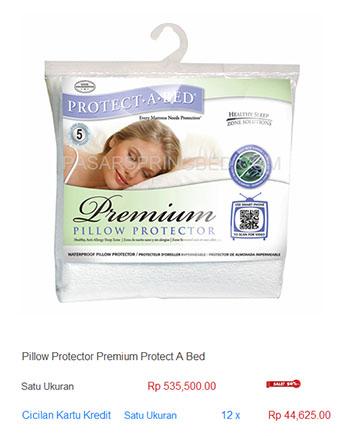 harga spring bed bantal pillow protector2